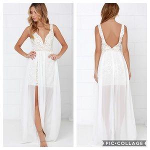 Lulu's | Make Way for Wonderful Maxi Dress